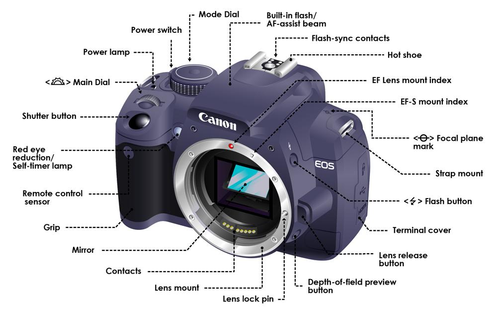 Thuật ngữ thường dùng trong nhiếp ảnh từ A - Z