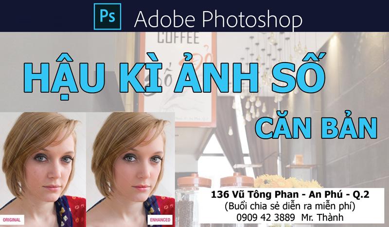 [Workshop] hậu kì ảnh bằng Photoshop - Free